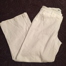 Chicos Platinum Stratton White Jeans New With Tags Size 2 (12) - $23.74