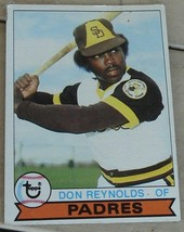 Don Reynolds, Padres, 1979  #292  Topps Card, VG COND - $0.99