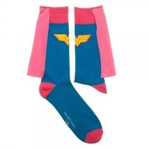 DC Comics Wonder Woman's Pink Cape Socks - $11.99