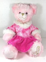 BUILD-A-BEAR Pink Plush Bear Cancer Awareness  - $38.79