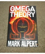 The Omega Theory Novel by Mark Alpert Hardcover with Dust Jacket NEW wit... - $2.96