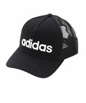 adidas CURVED TRUCKER Cap Unisex Casual Sports Adjustable Black NWT ED0316 - €32,31 EUR