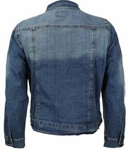 CS Men's Classic Distressed Ripped Destroyed Stretch Denim Jean Jacket image 6