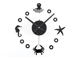 Panda Superstore Creative Design DIY Mediterranean amorous feelings Wall Clock [
