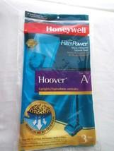2 Honeywell Vacuum Cleaner Bags Fits Hoover Ty... - $2.92
