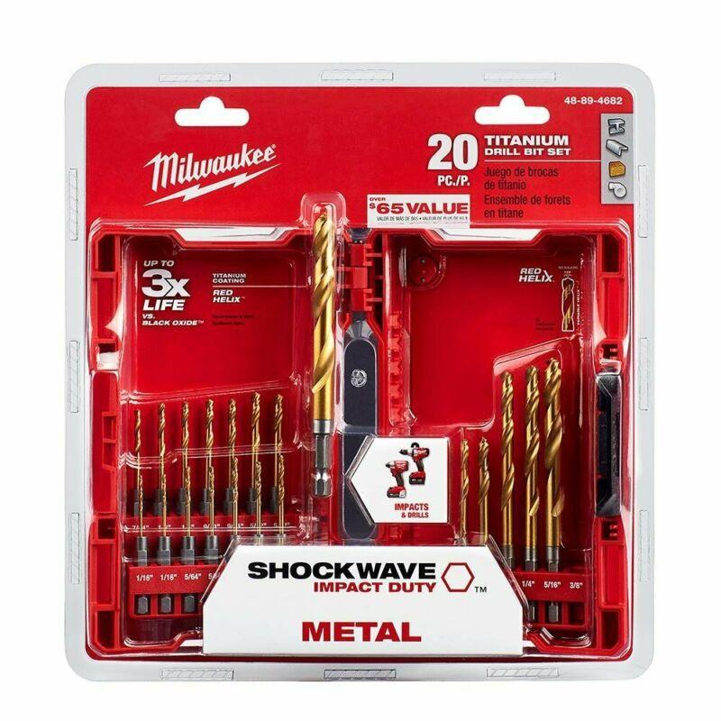 MILWAUKEE 48-89-4444 4pc Hex Shank Drill Bit Set