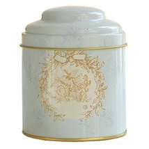 Kylin Express Unique Style Double-Deck Lids Tin Tea Canister Tea Storage Contain - $18.58
