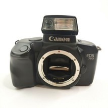Canon EOS 750 Camera Body SLR Film with 28-200mm  Caps Bag Manual Untested Parts - $54.40