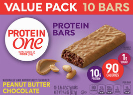 Protein One Peanut Butter Chocolate Protein Bars 10 - $12.00