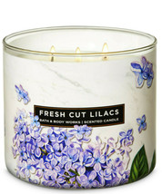 Bath & Body Works Fresh Cut Lilacs Three Wick.14.5 Ounces Scented Candle - $22.49