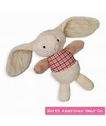 North American Bear Co. NABCO Silly Old Rabbit Ivory Plush Toy Stuffed A... - $12.16