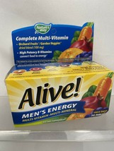 Nature's Way Men's Energy Complete Multivitamin 50 Tablets 8/20+ - $4.94