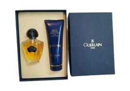 Retro Guerlain Shalimar 1.7 Oz EDT+ Silky Body Cream 4.4 Oz Gift Set 90%... - $85.09