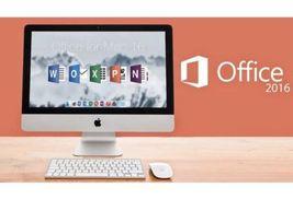Microsoft Office 2016 5 Devices (Full Version for Mac) Read description - $8.50