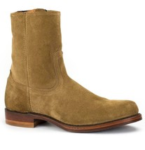 New in Box - $458 FRYE Campus Inside Zip Sand Suede Boots USA Made Size 10 - $229.99