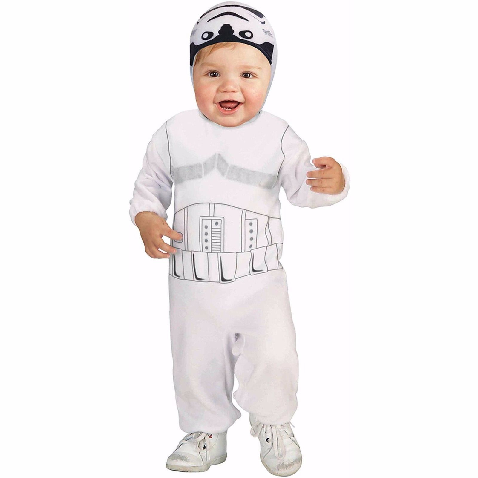 NEW NIP Boys or Girls Toddler Star Wars Storm Trooper Costume 2T