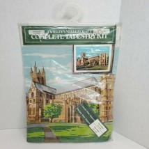 "Twilleys Needlecraft Tapestry Kit Canterbury Cathedral 12""x16"" Made in E... - $14.50"