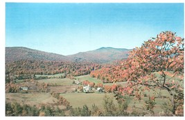 Plymouth Vermont VT Birthplace of Calvin Coolidge Postcard Chrome Colourpicture - $3.34