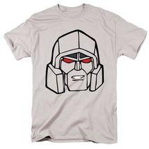 Transformers megatron t shirt retro 80s toys cartoon graphic printed grey tee american thumb200