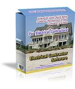 Electrical Contractor Software [DVD-ROM] Windows - $39.97