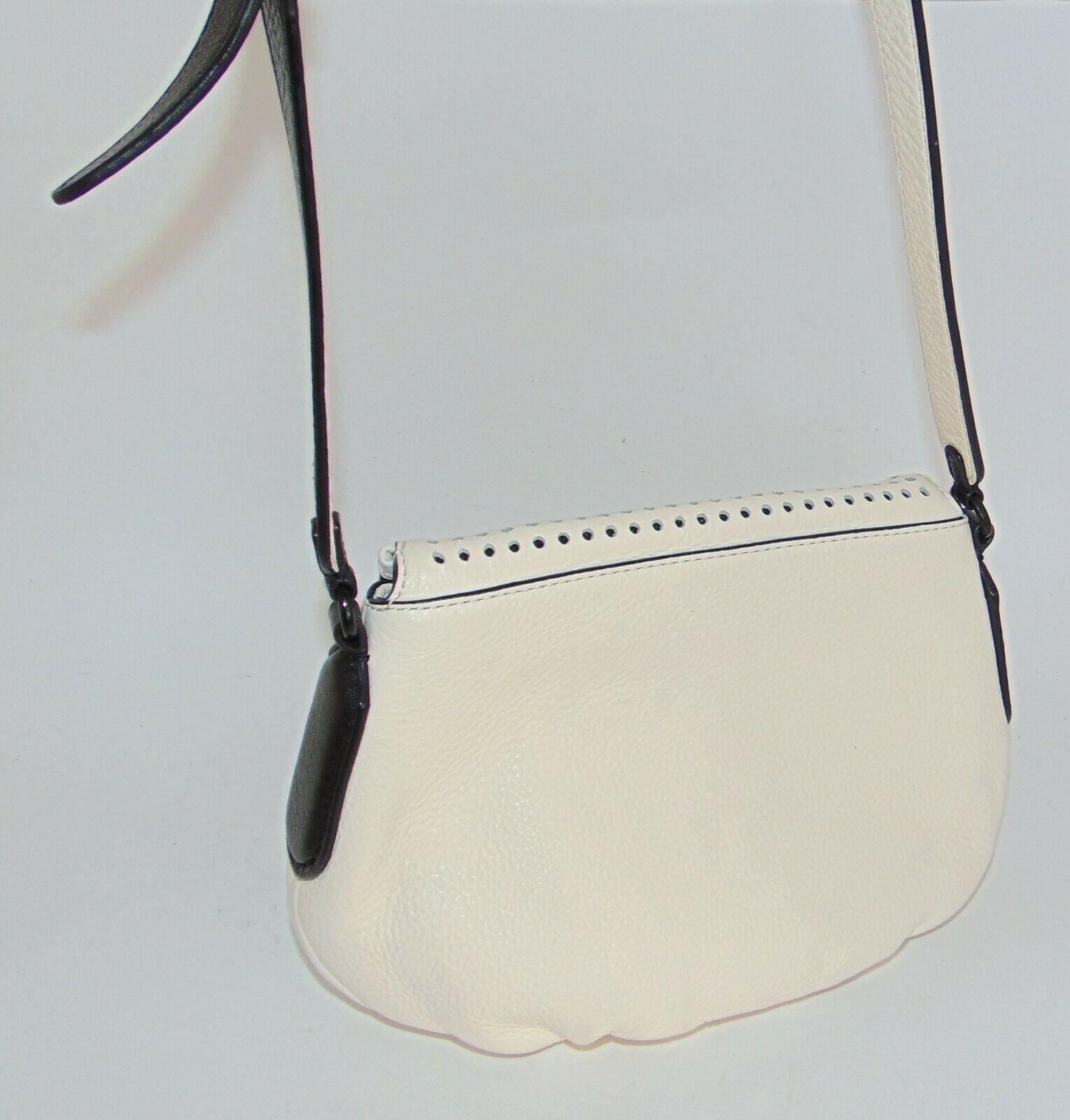 Marc by MARC JACOBS New Q Perforated Mini Natasha Bag  Black/Milk image 3