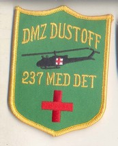 Us Army 237TH Dmz Dust Off Patch New!!! - $11.87