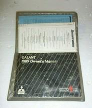 Vintage 1989 Mitsubishi Galant owner's manual - $9.74