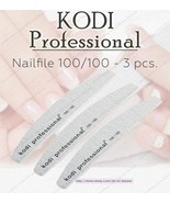NEW Kodi professional Nailfile Half Grey 100/100 for working with artifi... - $16.83