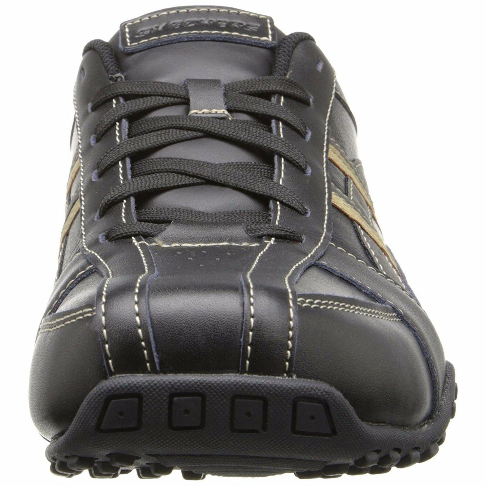 Skechers 64455/BLK Black, USA Men's Citywalk Malton Oxford Sneaker