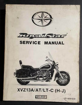 Oem Yamaha XVZ1300 XVZ13A/AT/LTC (H-J) Dealer Service Manual LIT-11616-VZ-01 - $34.95