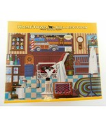 """Hometown Collection 1000 Piece Puzzle Sam's Barber Shop 18""""x26"""" New Sealed - $28.91"""