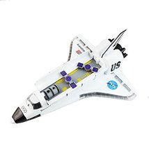 Ailejia Space Shuttle Scale Model Kit Orbiter Ship Diecast Space Shuttle Toy Col image 6