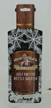 DMM Uncle Bobs XSweat Ugly Knitted Bottle Sweater Green with Bells and Holly image 5