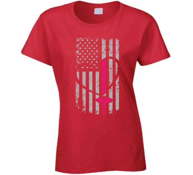Nurse Flag T-shirt