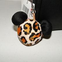 Disney Parks Animal Kingdom Mickey Mouse Leopard Crossbody Purse image 11