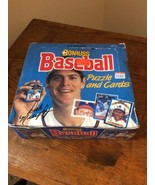 1988 Donruss Baseball Puzzle and Cards Hobby Box of 24 Count Sealed Packs - $27.95