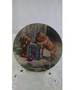 Cocker Spaniel Plate Puppy Playtime Jim Lamb River Shore 1987 - $5.00