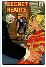 Secret Hearts #130 Comic book-1968 Great cover-DC Romance - $35.31