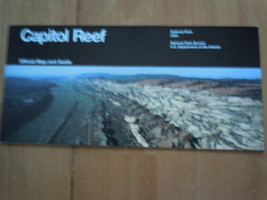 Capitol Reef National Park Utah Official Map & Guide National Park Services - $6.99
