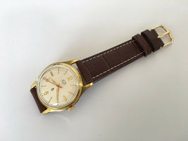 Vintage Rare GLASHUTTE GUB Q1 Chronometre cal. 60.3 Mechanical Germany Watch image 5