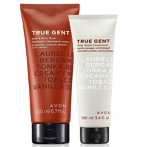 Avon True Gent For Men Hair & Body Wash + Aftershave Conditioner Duo Set - $12.72