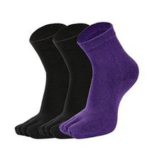 5 Pairs Women's Toe Socks Running Comfortable Healthy Socks,B - $26.23
