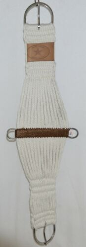 Courts Saddlery 27STR Roper Style Front Wool Blend Girth Cream