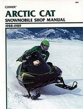 Clymer Arctic Cat Snowmobile Shop Manual 1988-1989: Service, Repair, Mai... - $46.12