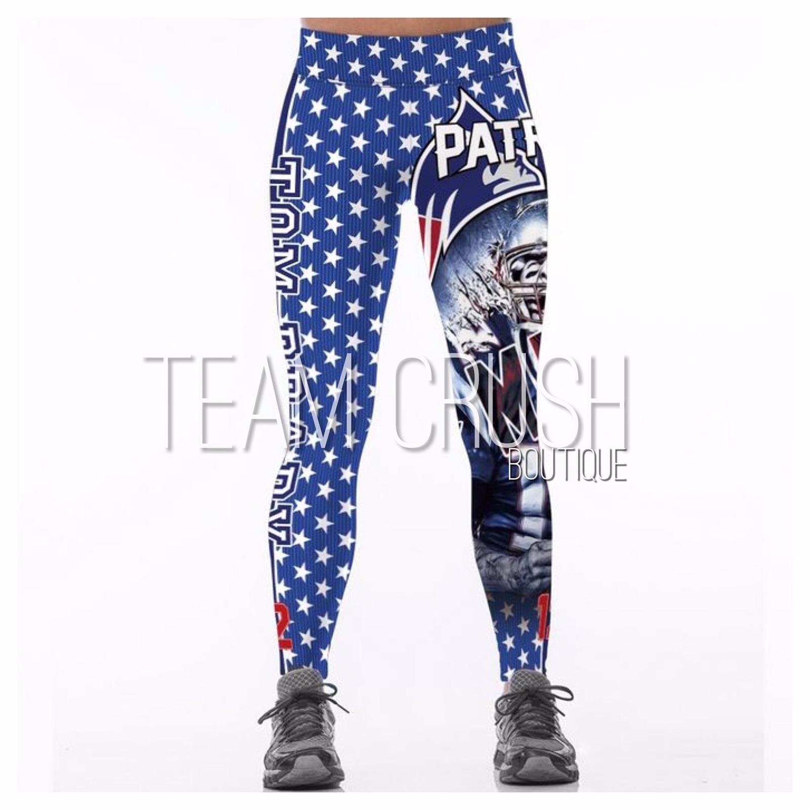 Nfl New England Patriots Leggings 12 Tom And 43 Similar Items