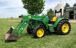 2002 John Deere Model 6220L For Sale in Athens, Michigan 49011 image 1