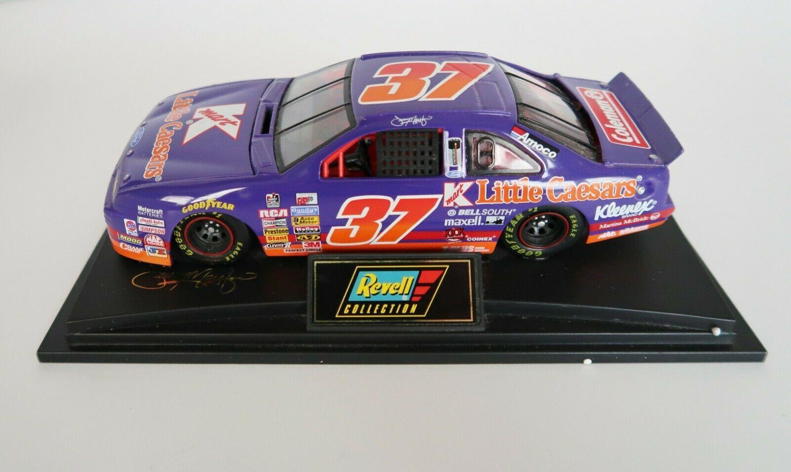 1996 Revell 1:24 NASCAR Jeremy Mayfield K-Mart Little Caesars Ford model car - $29.99