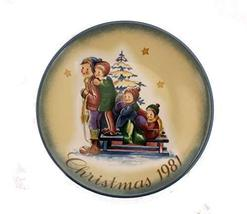 """Schmid """"A Time to Remember"""" Christmas 1981 Limited Edition Collector Pla... - $29.45"""