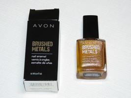 Avon Brossé Métaux Vernis à Ongles Brnshd Cuivre 12 ML 0.4 Fl oz Mani Pedi - $10.68