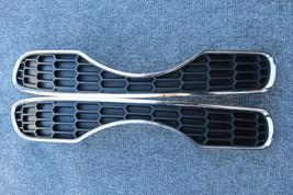 08-10 mini cooper sR55 rear bumper cover left n right side grille w/ chrome   .. - $47.52